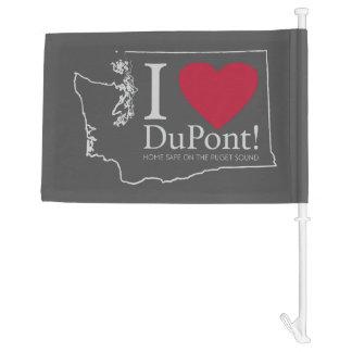 I Love DuPont, WA flag