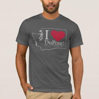 I Love DuPont, WA men's tshirt