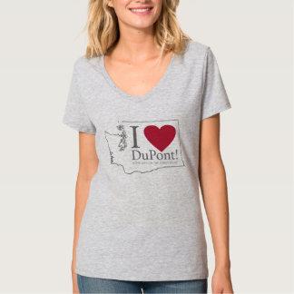 I Love DuPont, WA women's tshirt light