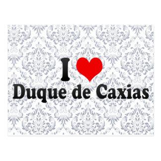I Love Duque de Caxias, Brazil Postcard