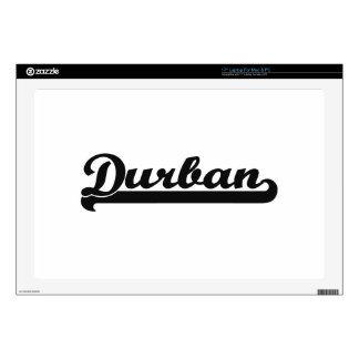 I love Durban South Africa Classic Design Laptop Decal