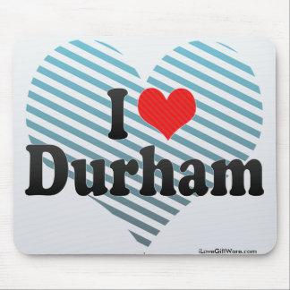 I Love Durham Mouse Pad