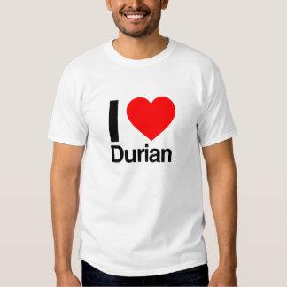 i love durian t shirt