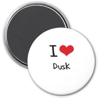 I Love Dusk Refrigerator Magnets