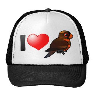 I Love Dusky Lories Trucker Hat