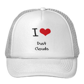 I Love Dust Clouds Mesh Hat