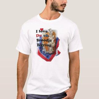 I Love Dutch Broodje Herring White T-Shirt