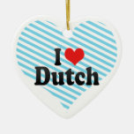 I Love Dutch Ornaments