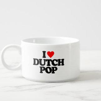 I LOVE DUTCH POP BOWL