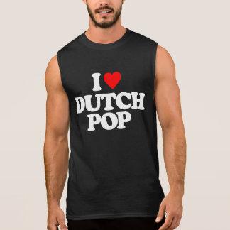 I LOVE DUTCH POP SLEEVELESS SHIRT