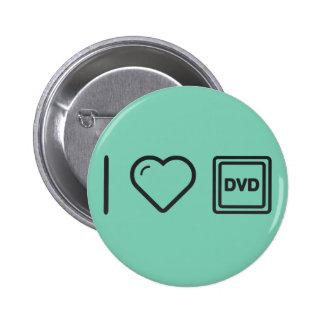I Love Dvd Labels 2 Inch Round Button