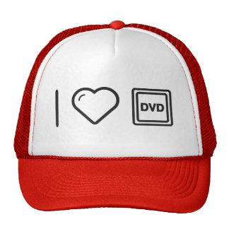 I Love Dvd Labels Trucker Hat