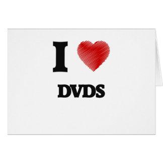 I love Dvds Card