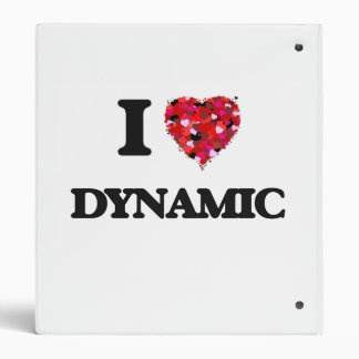 I love Dynamic 3 Ring Binders