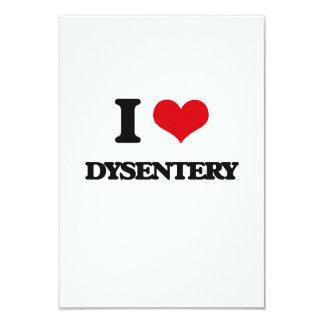 I love Dysentery Customized Invitation Cards