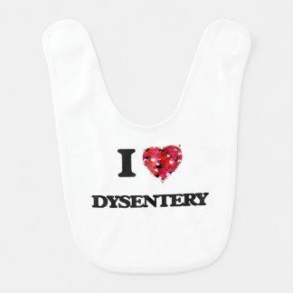 I love Dysentery Baby Bib