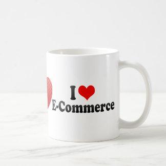 I Love E-Commerce Mug