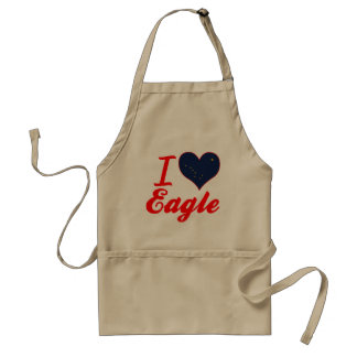 I Love Eagle, Alaska Aprons