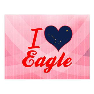 I Love Eagle, Alaska Postcard