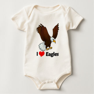I Love Eagles Bodysuit