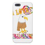 I LOVE EAGLES iPhone 5 COVER