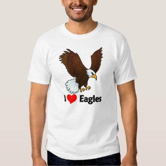 I Love Eagles T Shirt