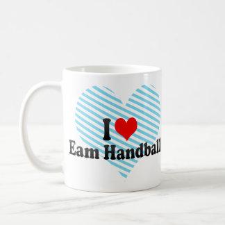 I love Eam Handball Coffee Mugs