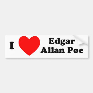I Love EAP Car Bumper Sticker