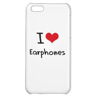 I love Earphones iPhone 5C Covers