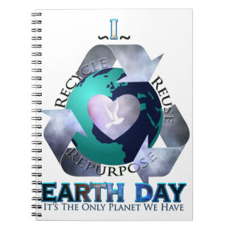 I Love Earth Day Notebook
