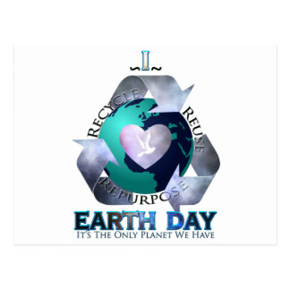 I Love Earth Day Postcard