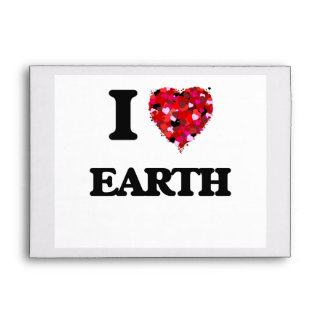 I love EARTH Envelopes