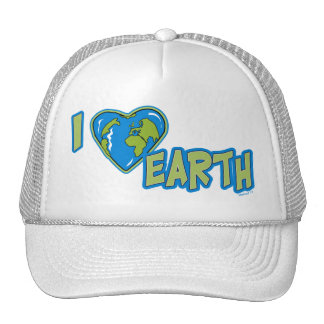 I Love Earth Hat