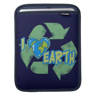 I Love Earth iPad Sleeve