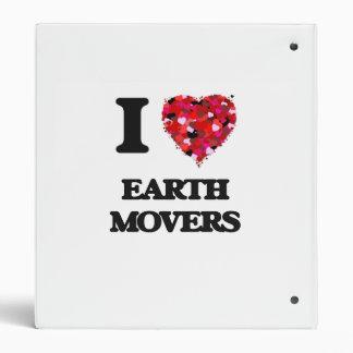 I love EARTH MOVERS Vinyl Binder