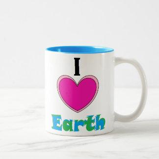 I love Earth mug