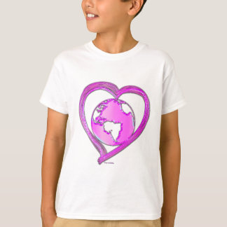 I LOVE EARTH (Pink) Series T-Shirt
