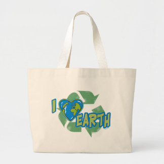 I Love Earth Recycle Bag