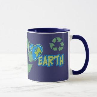 I Love Earth Recycle Mug