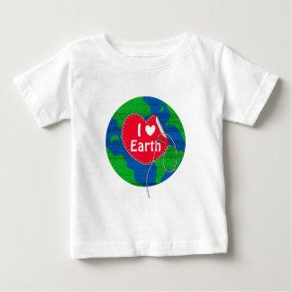 I love earth sewing heart tshirts