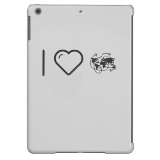 I Love Earth Troubles Case For iPad Air