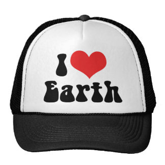 I Love Earth Trucker Hat