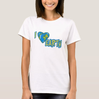 I Love Earth Women's T-Shirt
