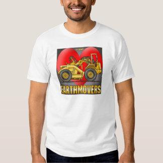 I Love Earthmover Scrapers Mens T-Shirt