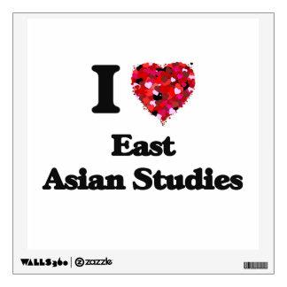 I Love East Asian Studies Room Sticker