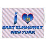 I love East Elmhurst, New York Greeting Card
