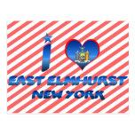I love East Elmhurst, New York Post Card