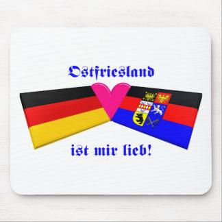 I Love East Friesland / Ostfriesland ist mir lieb Mouse Pad