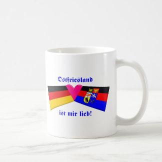 I Love East Friesland / Ostfriesland ist mir lieb Coffee Mugs
