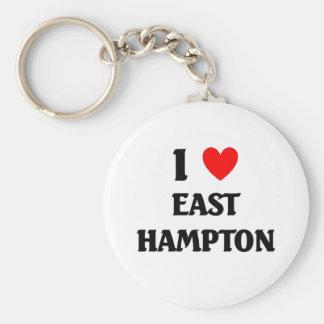 I love East Hampton Basic Round Button Keychain
